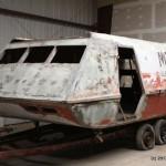 Il restauro della navetta Galileo-7 di Star Trek