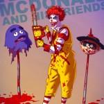 Ronald McDonald si diverte con gli amici