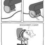 Le malefiche rotelle mangia-cavi
