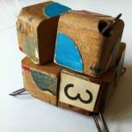 Uno scatto del prototipo del cubo di Rubik