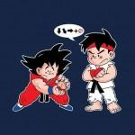 Ryu, Goku e le sfere di energia