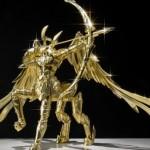 La statuina d'oro da 460.000 Euro dedicata ai Cavalieri dello Zodiaco