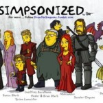 I personaggi di Game of Thrones in versione Simpson