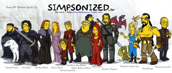 simpson-game-of-thrones-cast
