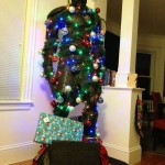 """Un """"albero"""" di Natale in stile Skyrim"""