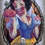 Le Principesse Disney in versione Zombie