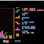 Una partita veloce a Tetris