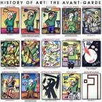 La storia dell'Avanguardia artistica in un immagine
