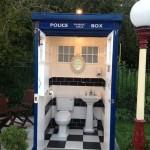 Una toilette dentro al TARDIS