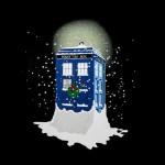 Il TARDIS tra la neve