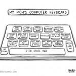 La leggendaria tastiera che usano le mamme