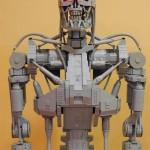 Terminator T-800 in scala 1:1 fatto di LEGO