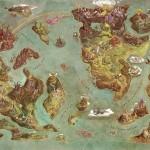 La mappa delle terre leggendarie