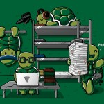"Le vere ""Teenager"" Ninja Turtles"
