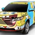 La Toyota di SpongeBob