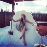 Il Trono di Spade di neve