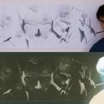 I disegni in negativo di Wolverine
