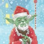 Babbo Yoda, più che un Babbo…un elfo.