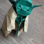 Yoda rifatto con gli Origami