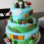 La torta di compleanno di Yoshi