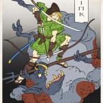 Zelda in stile jappo-retrò